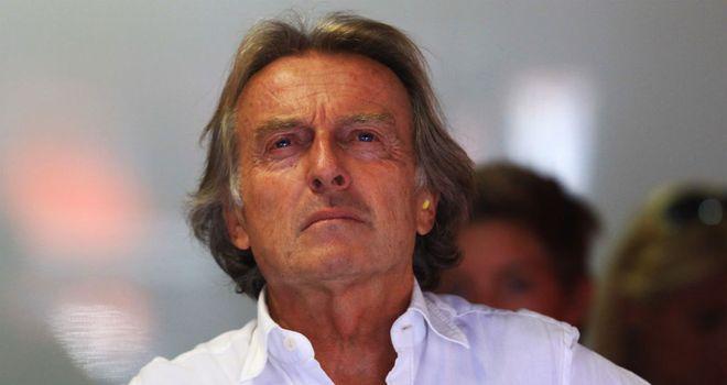 Ferrari President Luca di Montezemolo