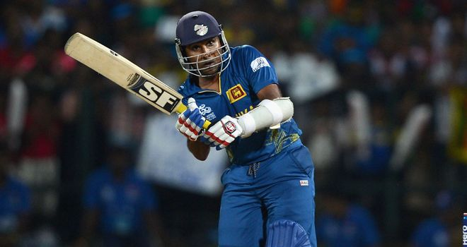 Mahela Jayawardene: Top scored with unbeaten 65 from 49 balls