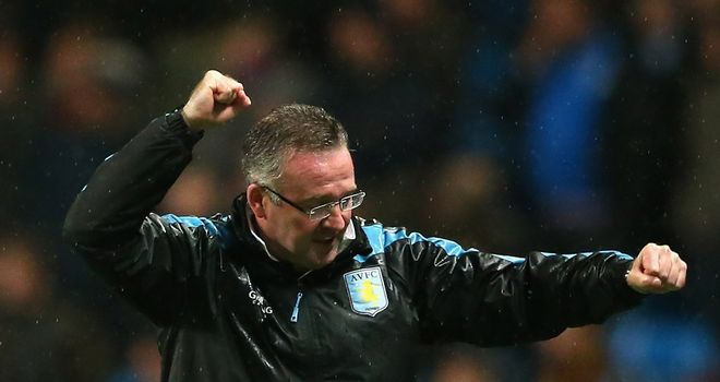 Paul Lambert: Encouraged by the way the fans have got behind Aston Villa