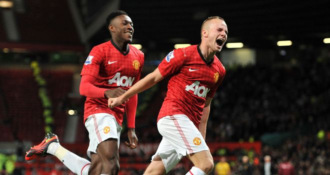 Tom Cleverley: Relieved to finally break his goalscoring duck