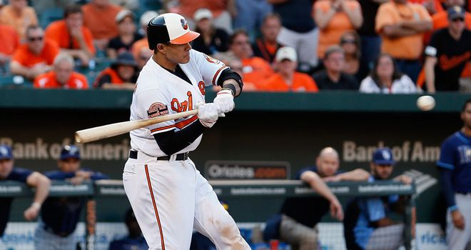Manny Machado: Seventh-inning homer propelled the Orioles to victory