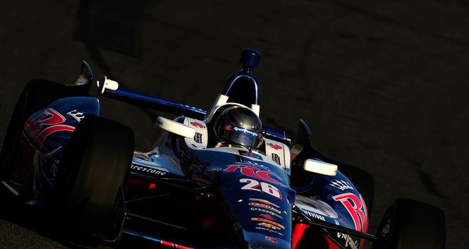 Marco Andretti: Will start on pole position for season-ending race