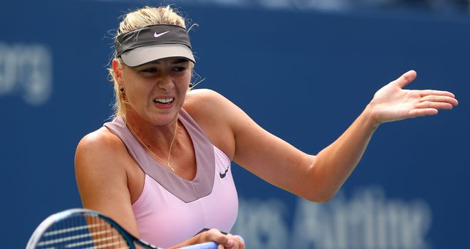 Maria Sharapova: The third seed will face Victoria Azarenka for a place in Saturday's final