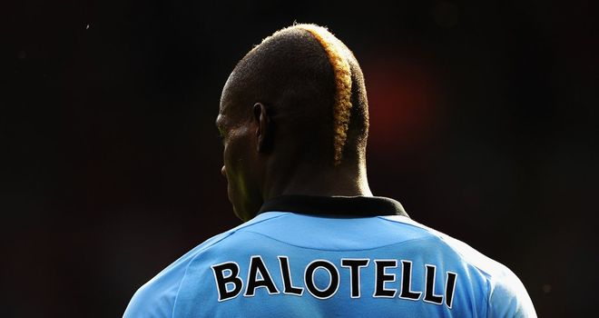 Mario Balotelli: Has his manager's backing and patience
