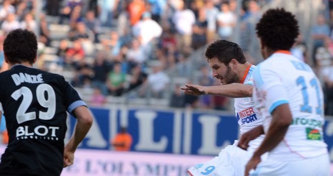 Andre-Pierre Gignac rifled home Marseille's second