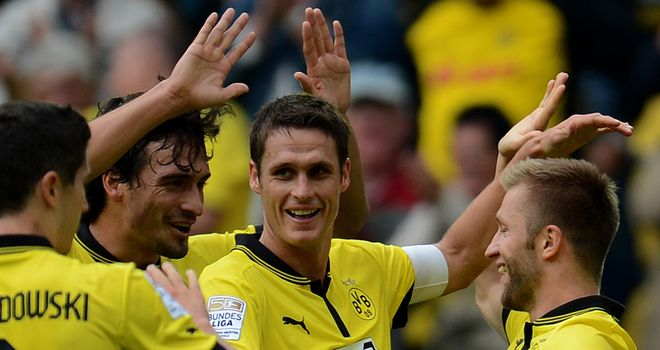 Mats Hummels: Scored the opening goal in Borussia Dortmund's win over Bayer Leverkusen