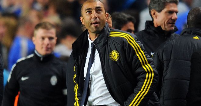 Roberto Di Matteo: Claims it will be hard for Chelsea to qualify from Group E