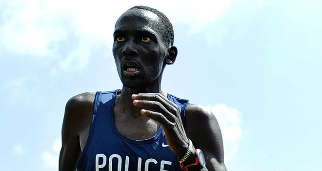 Matthew Kisorio: The runner has gone on to claim doping is widespread within Kenyan athletics