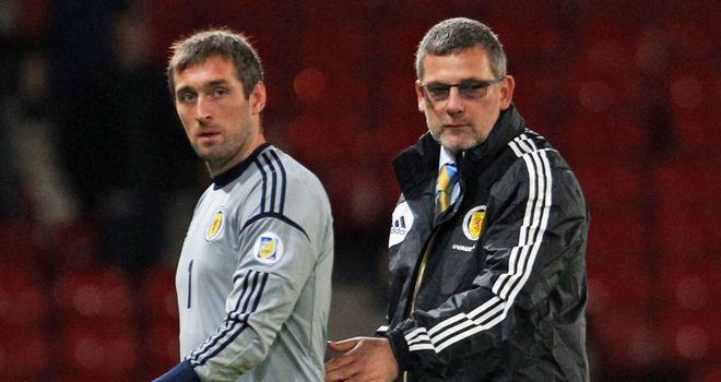 Craig Levein: Under pressure after taking two points from two matches at the start of qualifying