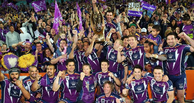 Melbourne Storm: Australian champions set to contest a training session with Championship side Halifax