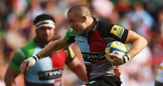 Mike Brown: The Harlequins full-back insists the Aviva Premiership champions are not resting on their laurels