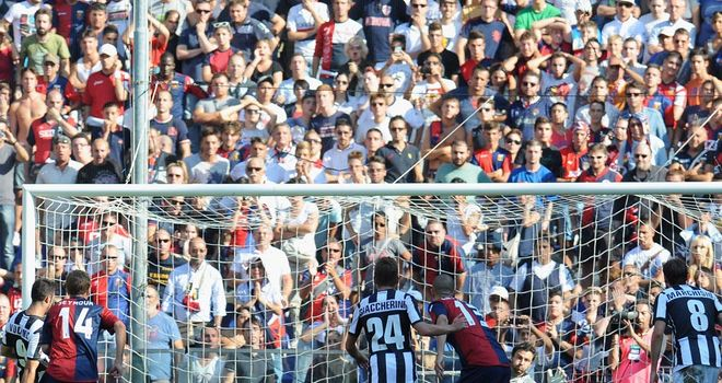 Mirko Vucinic: Scored for Juventus in their 3-1 victory at Genoa