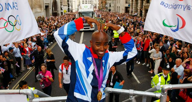 Mo Farah earned a break after his Olympic exploits but is back hunting more success