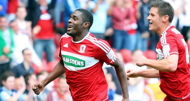 Mustapha Carayol: Scored the only goal in Middlesbrough's win