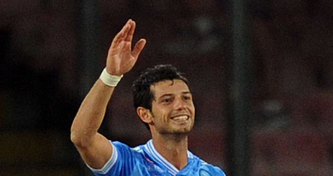 Blerim Dzemaili scored for Napoli