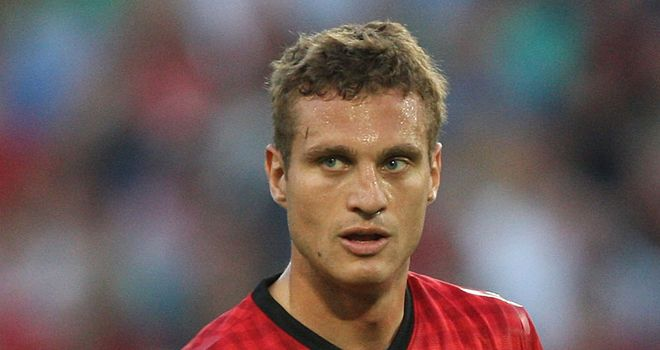 Nemanja Vidic: Aiming to win the Premier League and Champions League with Manchester United