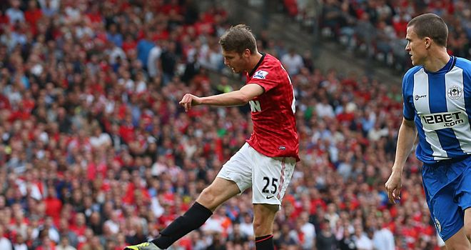 Nick Powell: On target on debut