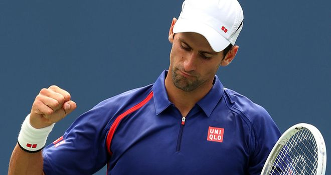 Novak Djokovic: The Serb reaches last eight for sixth straight year