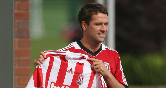 Michael Owen: Prepared to work hard to play a part at Stoke