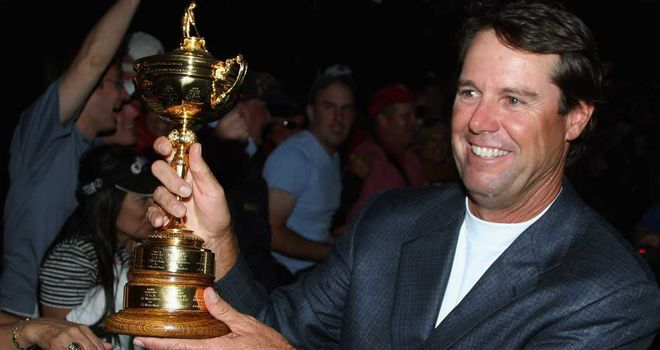 Paul Azinger guided Team USA to Ryder Cup glory at Valhalla in 2008