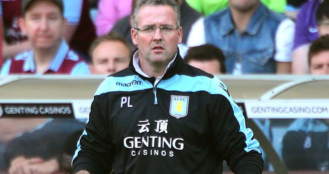 Paul Lambert: Expects plenty of ups and downs to come for Aston Villa