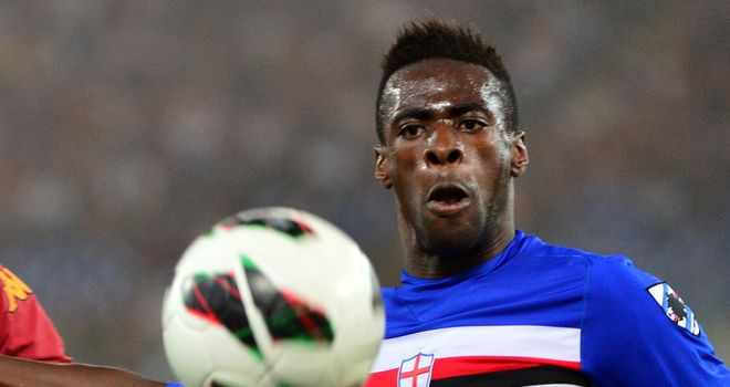 Pedro Obiang: Sampdoria midfielder flattered by Manchester City link