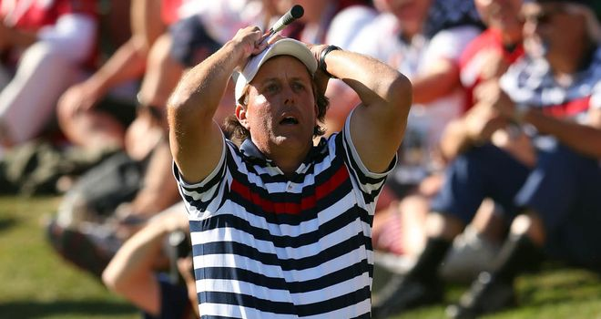 Phil Mickelson: Still coming to terms with America&#39;s defeat at Medinah