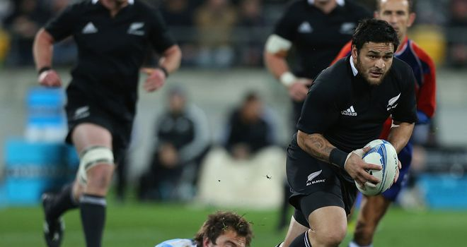 Piri Weepu: Given chance at scrum-half
