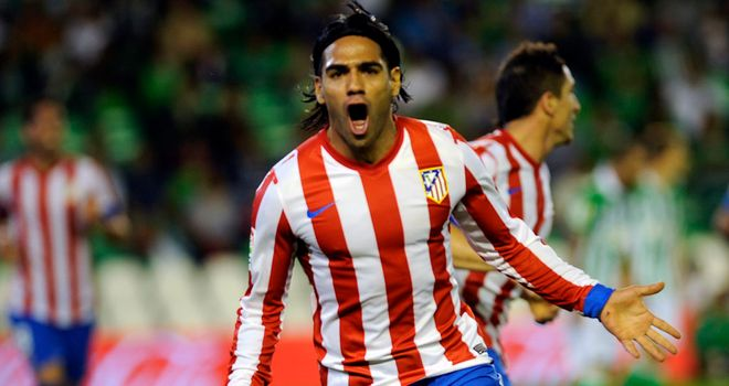 Radamel Falcao: Chelsea and Liverpool will hope to avoid facing the Atletico Madrid striker