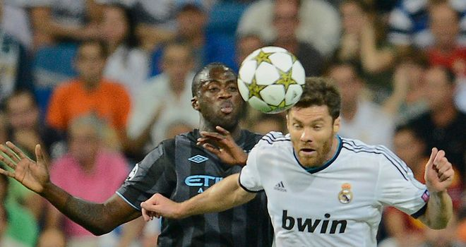 Xabi Alonso: Set to be recalled to the Real Madrid side against Ajax