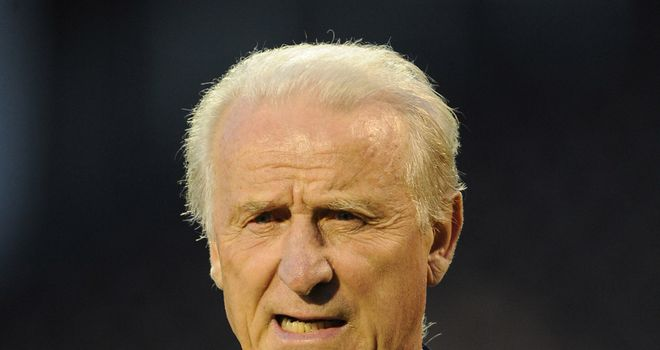 Giovanni Trapattoni: Republic of Ireland coach could lead his team against England at Wembley next year