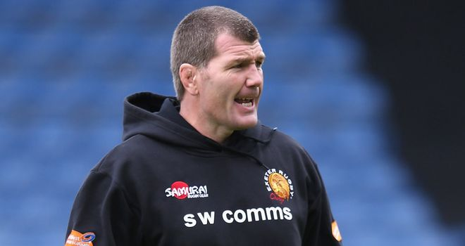 Rob Baxter: took the positives from a bonus-point defeat