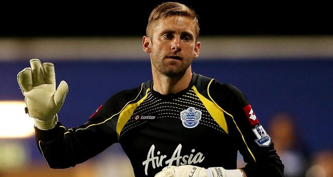 Robert Green: Second choice at Loftus Road since Julio Cesar's arrival