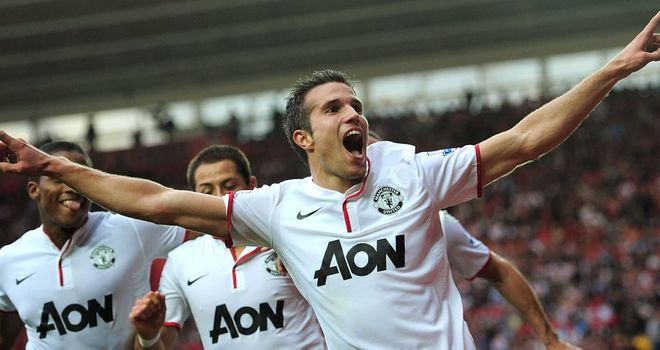 Robin van Persie: Manchester United striker has been called world class by his team-mate Ryan Giggs