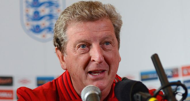 Roy Hodgson: Looking forward to Wednesday's Wembley friendly