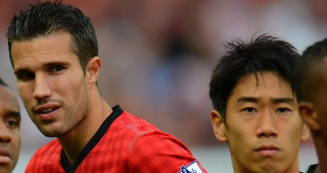 Backing: Giggs believes Van Persie and Kagawa will shine in Europe