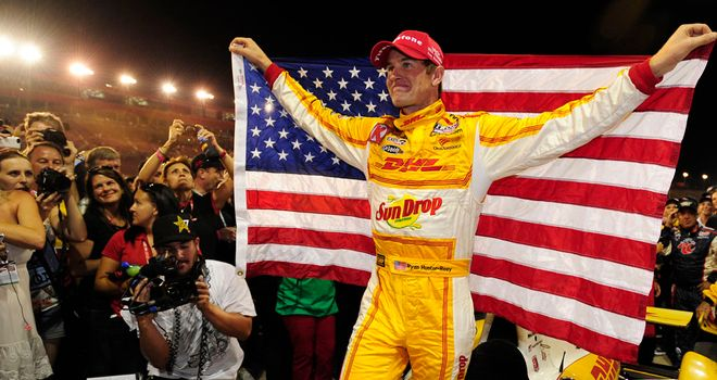 Ryan Hunter-Ryan: Became the first American to win the IndyCar Series in six years