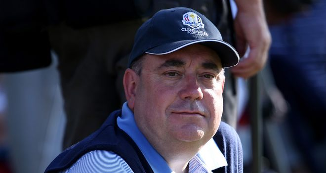 Salmond: boycotting Muirfield over male-only rule