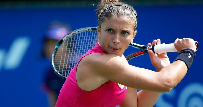 Sara Errani: Still looking to make semi-final place