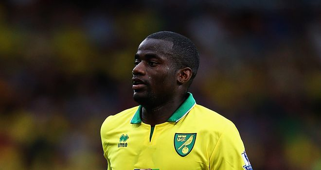 Sebastien Bassong: Norwich City new boy has been praised by Russell Martin for his centre-half pairing with Leon Barnett