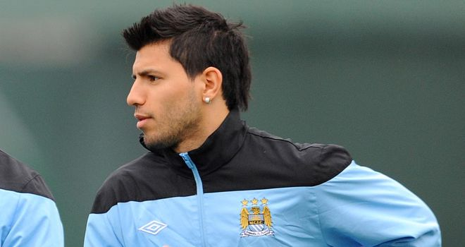 Sergio Aguero: Set to make the trip to Madrid for Tuesday's Champions League clash