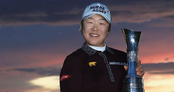 Jiyai Shin: Second British Open success
