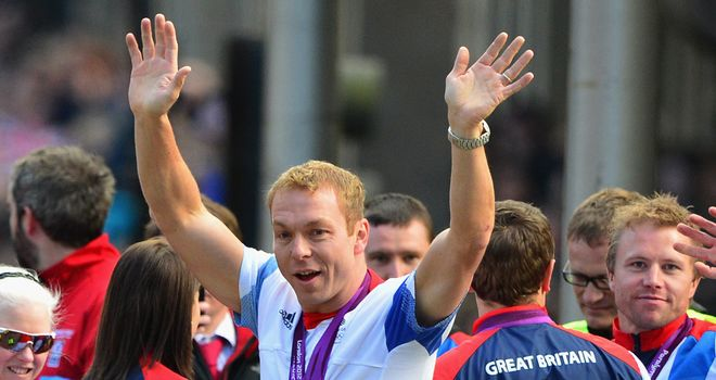 Sir Chris Hoy: Awarded the freedom of his home city