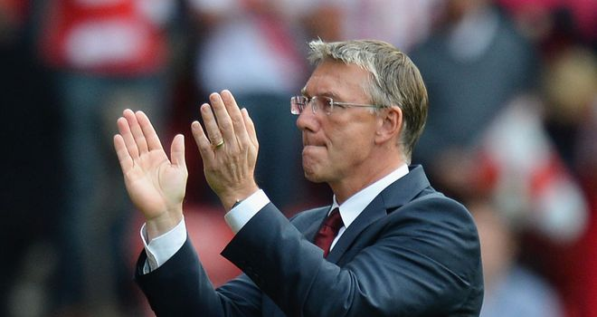 Nigel Adkins: Felt his side deserved all three points at home to Aston Villa