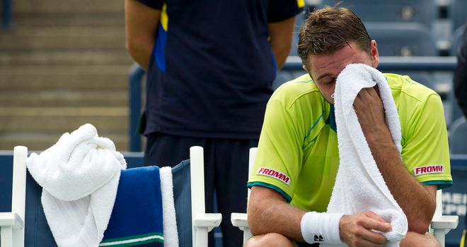 Stanislas Wawrinka: Beaten in the first round of his home tournament