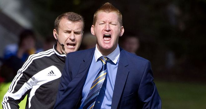 Steve Lomas: Manager of the month