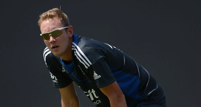 Stuart Broad: Insists the serious business of the ICC World Twenty20 starts now