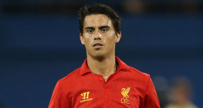 Suso: Has impressed since stepping up into the first team fold this season