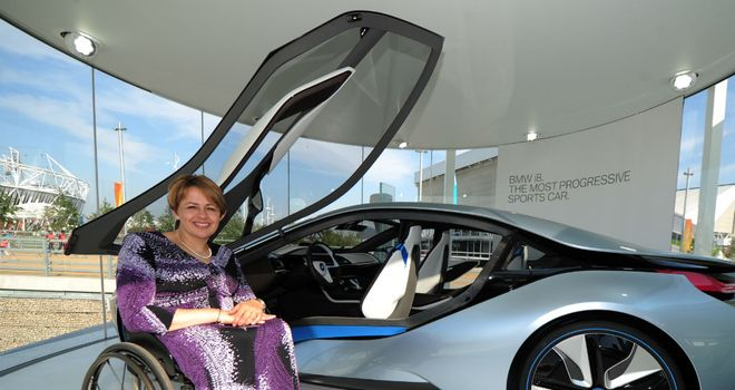 Baroness Tanni Grey-Thompson: Excited about the 2012 Paralympic Games