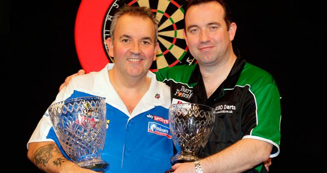 Phil Taylor: Celebrates World Grand Prix win last year